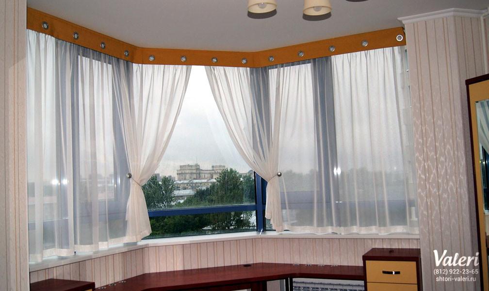 Дизайн штор для балконов.