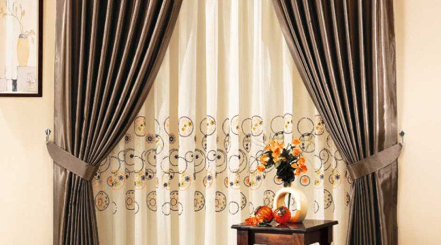 Ширина ткани для штор
