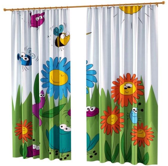 Ткань для детских штор