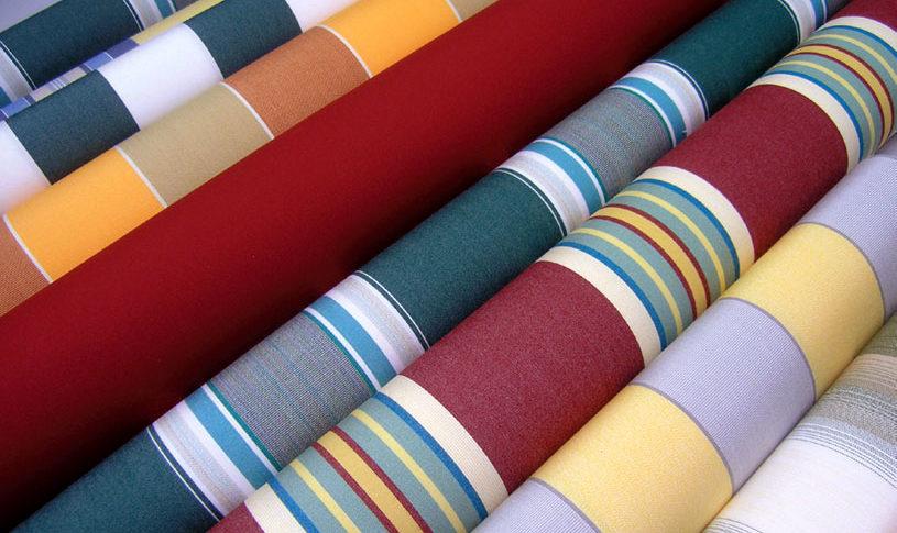Ткани для уличных штор