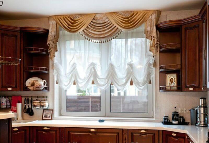 Эксклюзивные шторы для кухни